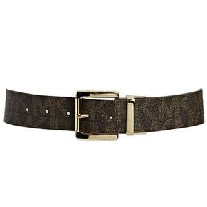 Michael Kors Logo Twist Reversible Brown Belt